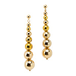 Multi Bead Drop Earrings | Gold Bead Collection | Handmade Fashion Jewelry | Wholesale | Marli and Lenny