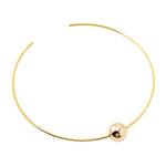 Single Bead Choker | Gold Bead Collection | Handmade Fashion Jewelry | Wholesale | Marli and Lenny