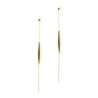 Mid Drop Bead Earrings | Gold Drop Collection | Handmade Fashion Jewelry | Wholesale | Marli and Lenny