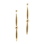 Mid Bead Drop Earrings | Gold Drop Collection | Handmade Fashion Jewelry | Wholesale | Marli and Lenny