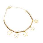 5 Mini Star Bracelet | Stars Collection | Handmade Fashion Jewelry | Wholesale | Marli and Lenny