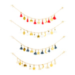 Multi Charm Bracelet with Tassels | Multi Charm Collection | Handmade Fashion Jewelry | Wholesale | Marli and Lenny