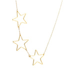 Triple Single Star Chain | Stars Collection | Handmade Fashion Jewelry | Wholesale | Marli and Lenny