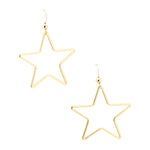 Single Star Earrings | Stars Collection | Handmade Fashion Jewelry | Wholesale | Marli and Lenny