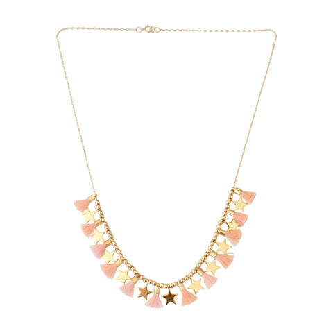 Blush Single Chain w/ Stars