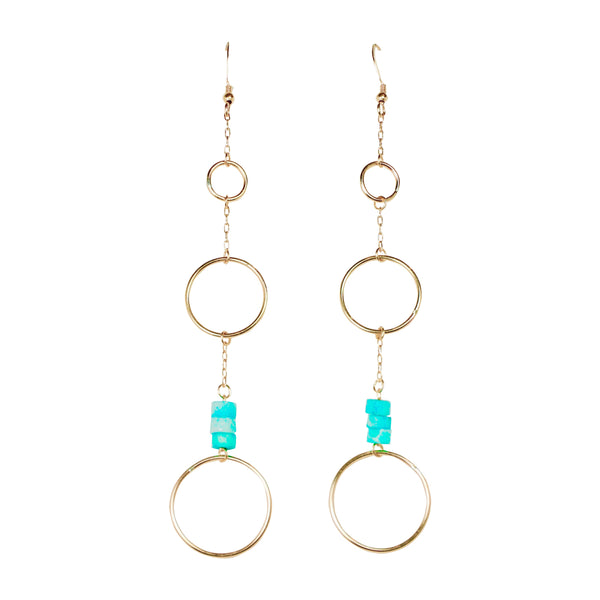 Large Ring Drop Earring (3)