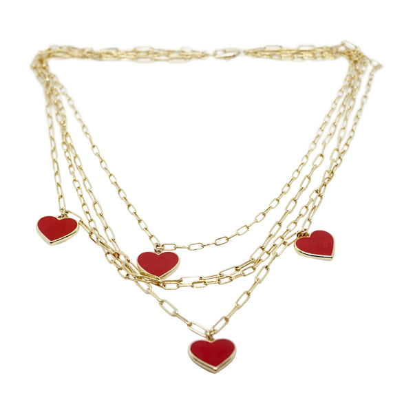 Multi Chain Necklace (more colors available)