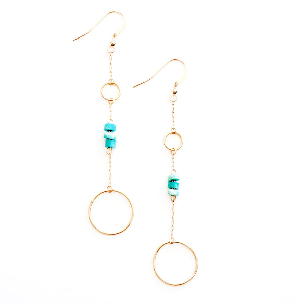 Large Ring Drop Earring (2)