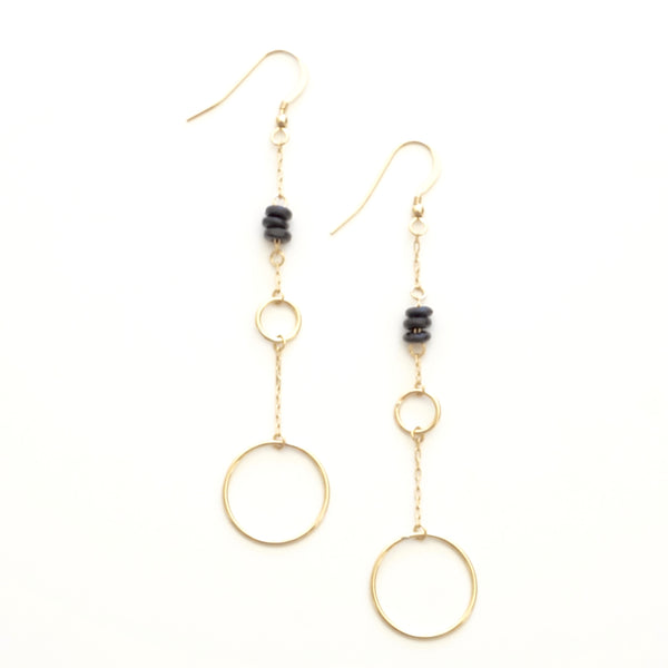 Large Ring Drop Earring