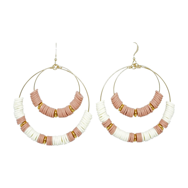 Double Hoop Earrings 1
