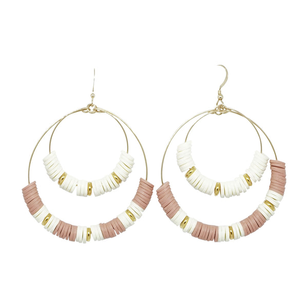 Double Hoop Earrings 2 (More Colors Available)