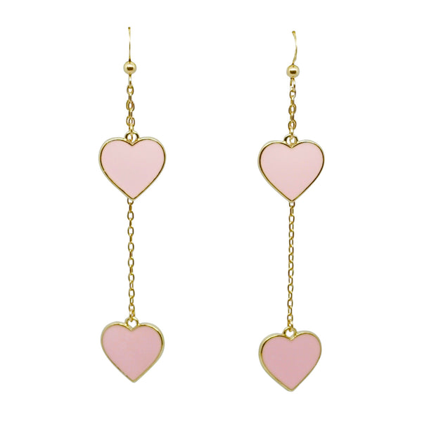 Heart Earrings (more colors available)