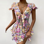 Floral Summer Mini Dress