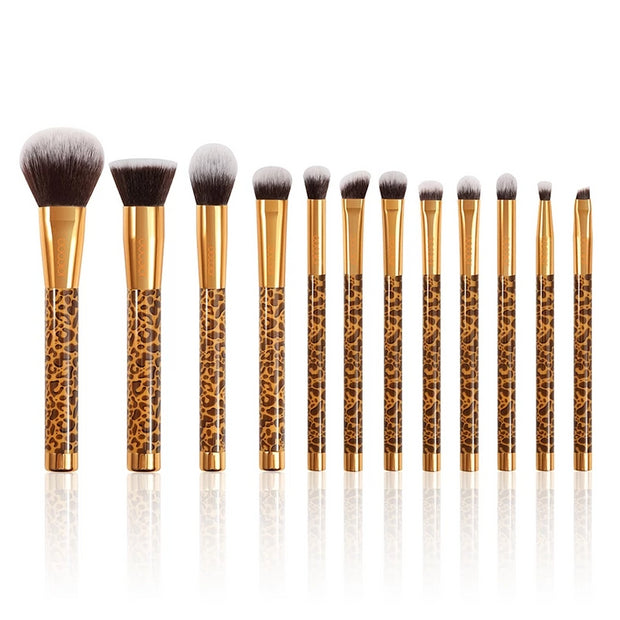 Softer Touch 12 pcs Professional Makeup Brushes Set with Bag