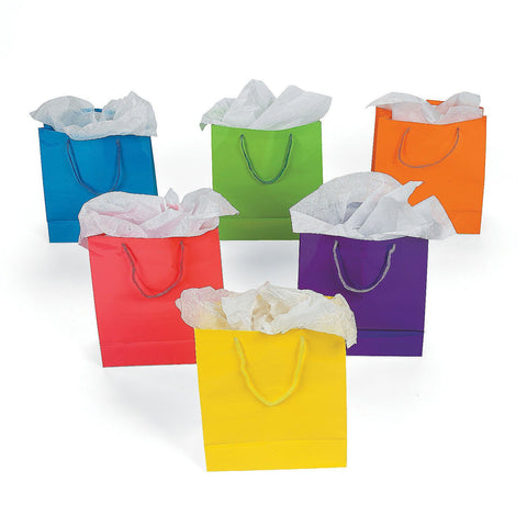 Multicolor Gift Bags