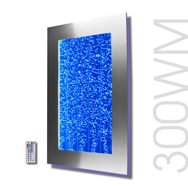 30 Quot Bubble Panel Fountain Wall Mount With Led Color