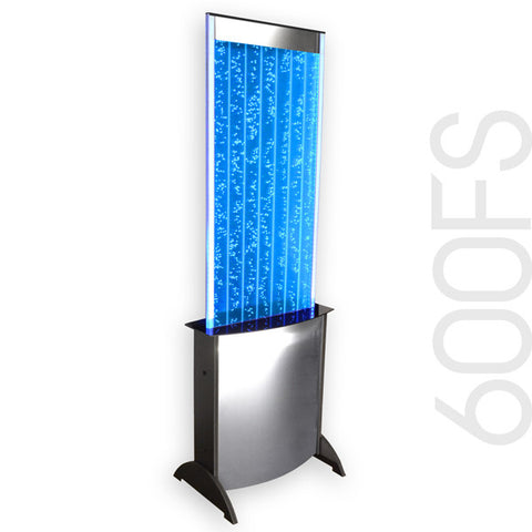 Large Bubble Panel With Neon Blue LED Lights