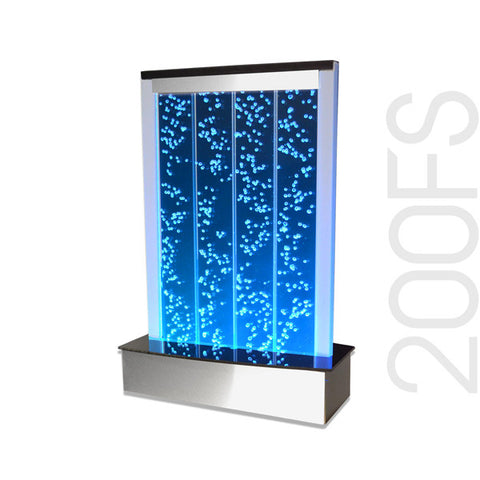Large Floor Standing Led Bubble Wall Indoor Fountain Water