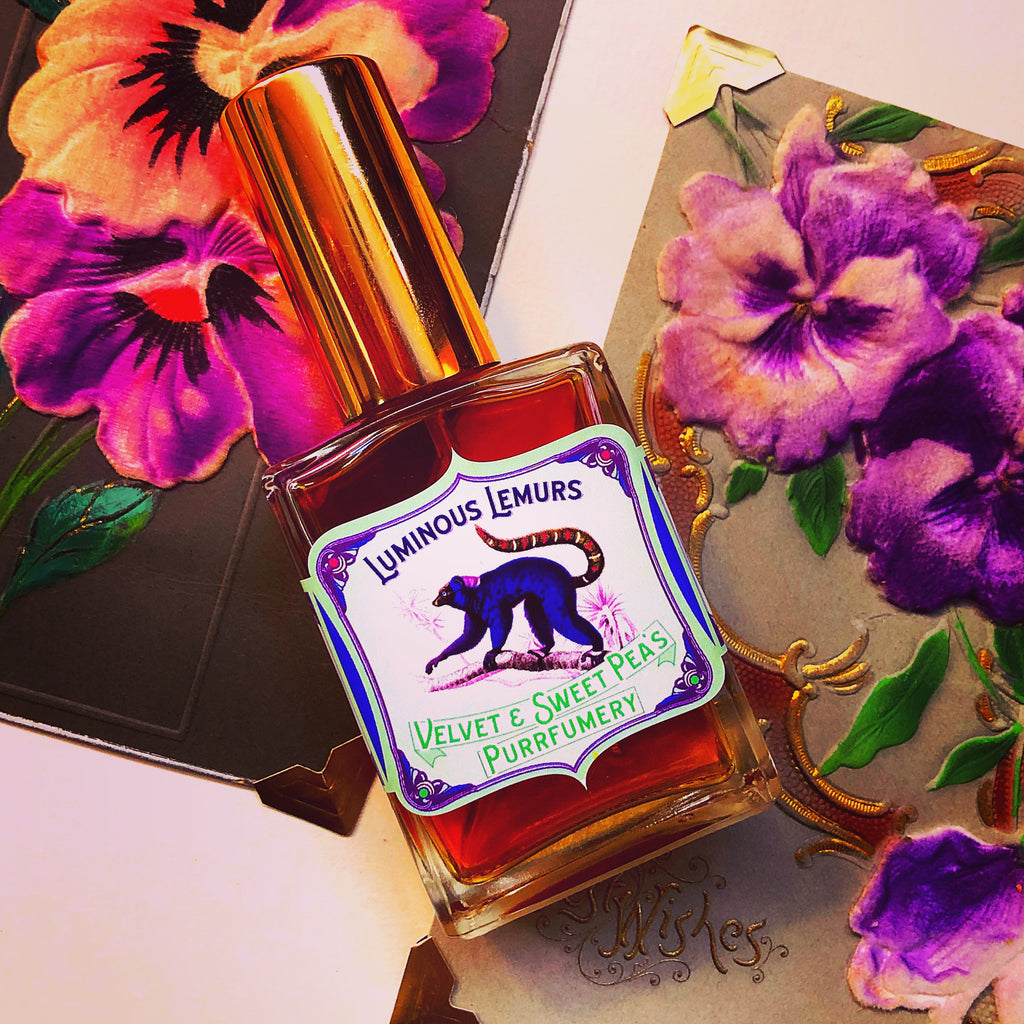 NEW! Luminous Lemurs Perfume!