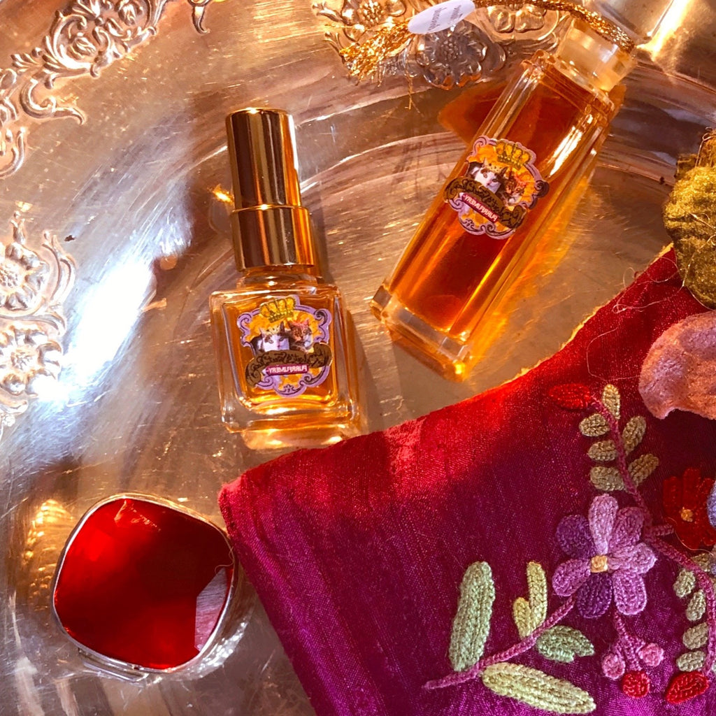 Flame Brocade Natural Organic Perfume