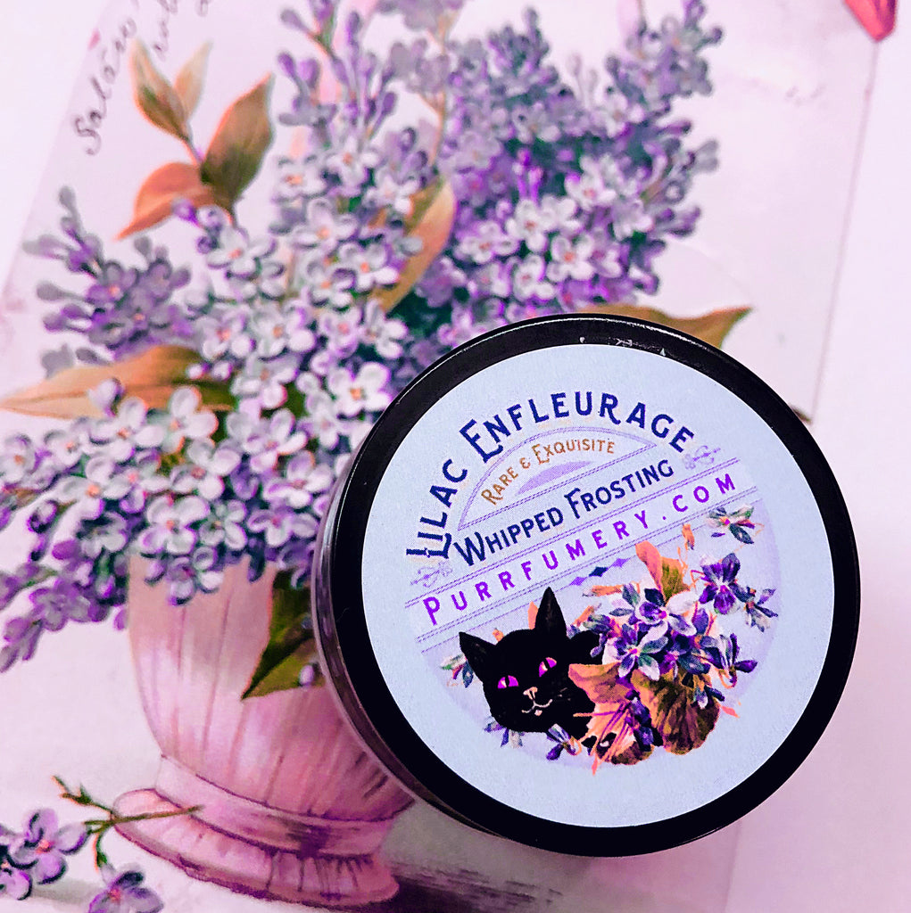 RARE! Lilac Enfleurage Whipped Face & Body Frosting. Limited supply.