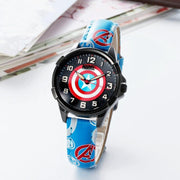 Waterproof Kids Watches Leather Quartz Clock Boy Gift Children reloj montre relogio Kol Saati