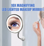 10x Magnifying LED Lighted Makeup Mirror (Buy 2 Get Free shipping)
