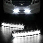60% OFF TODAY--Automatic Wind Power 8 LED Car Light,One Set of 2 PCS