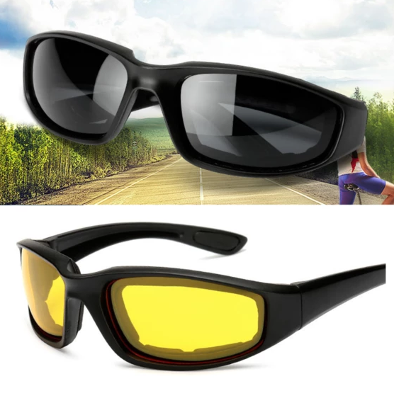 Anti-Glare Motorcycle Glasses