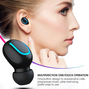 Bluetooth 5.0 Earphones TWS Wireless Handsfree Headphone Sports Earbuds Gaming Headset Phone - CHOIES SHOP