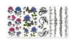 (Buy 2 Get Free Shipping)3D tattoo sticker(20pcs)
