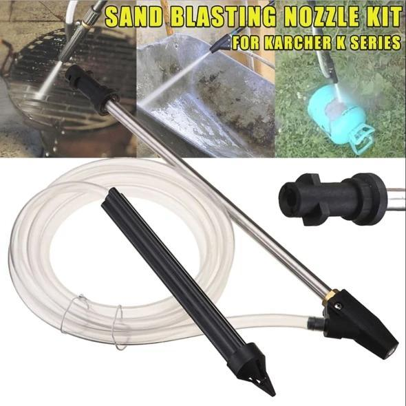 FREE SHIPPING!!! High Pressure Washer Wet Sand Blasting Kit