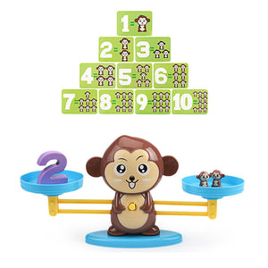 Monkey Balance - Math Genius