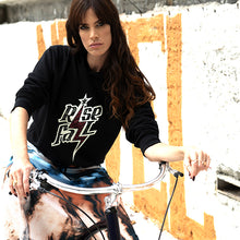 Charger l'image dans la galerie, SWEAT-SHIRT FEMME CAPUCHE COURT RIDE OR DIE