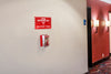 Fire Sprinkler Stopper Tool + Wall Mount Combo + Sign