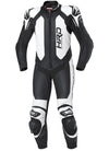Held Slade 1-Piece Mens Leather Suit - Black/White - Urban Nomads Motorcycle Clothing
