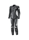 Held Ayana 2 Ladies Leather 1-Piece Suit - Black/White - Urban Nomads Motorcycle Clothing