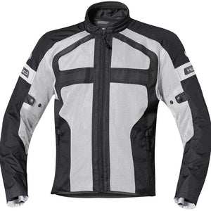Held Tropic 2 Mesh Summer Jacket - Grey/Black - Urban Nomads Motorcycle Clothing