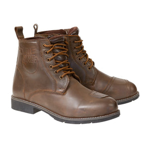 Merlin Ashton Hipora Waterproof Boots - Brown - Urban Nomads Motorcycle Clothing