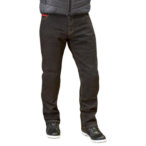 Merlin Route One Blake Stretch Kevlar Riding Jeans - Black - Urban Nomads Motorcycle Clothing