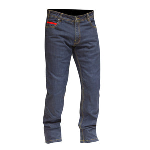 Merlin Route One Blake Stretch Kevlar Riding Jeans - Blue - Urban Nomads Motorcycle Clothing