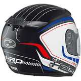 Held Brave 2 Helmet - White/Red/Blue - Urban Nomads Motorcycle Clothing