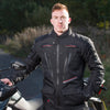 Merlin Carbon Waterproof Jacket - Black - Urban Nomads Motorcycle Clothing