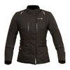Merlin Carina Ladies Waterproof Textile Jacket - Black - Urban Nomads Motorcycle Clothing