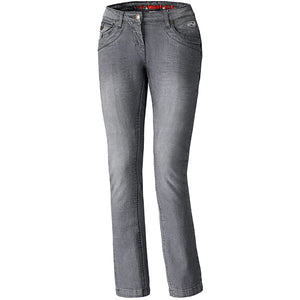 Held Crane Stretch Ladies Kevlar Riding Jeans - Grey - Urban Nomads Motorcycle Clothing