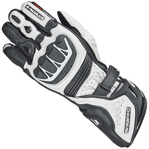 Held Chikara RR Sports Gloves - Black/White - Urban Nomads Motorcycle Clothing