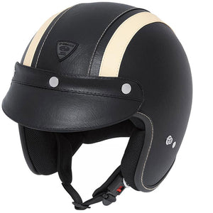 Held Rune Open Face Helmet - Leather - Urban Nomads Motorcycle Clothing