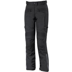 Held Acona Waterproof Ladies Textile Trouser - Black - Urban Nomads Motorcycle Clothing