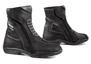 Forma Latino Waterproof Short Boots - Black - Urban Nomads Motorcycle Clothing