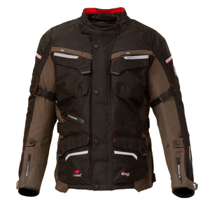 Merlin Lynx 2-in-1 Outlast Waterproof Jacket - Olive - Urban Nomads Motorcycle Clothing